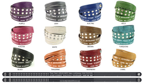 Good Works, Humanity, Wrap Bracelets