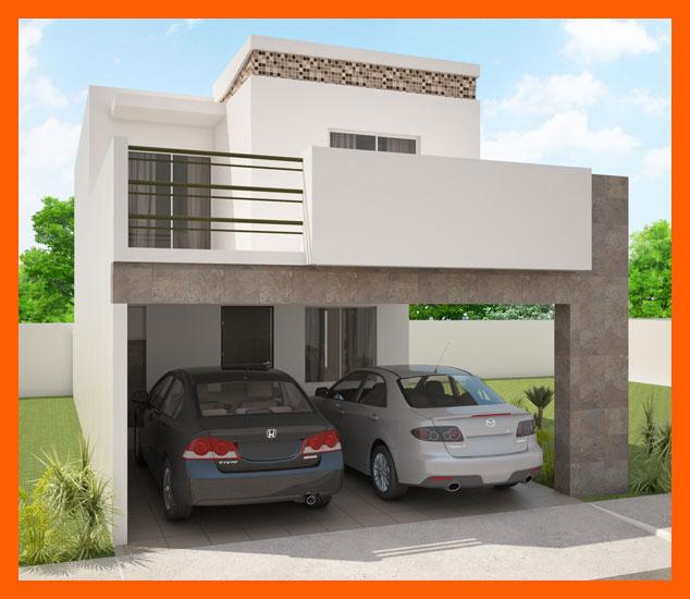 Fachadas de casas modernas fachada de casa moderna modelo for Fachadas de casas modernas con zaguan