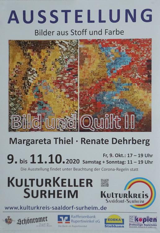 """Ausstellung """"BILD UND QUILT"""" 2020"""