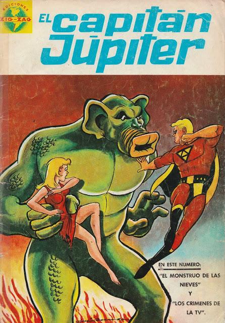 El Capitán Júpiter 01 - 22 Editorial Zig-Zag (Colección completa)