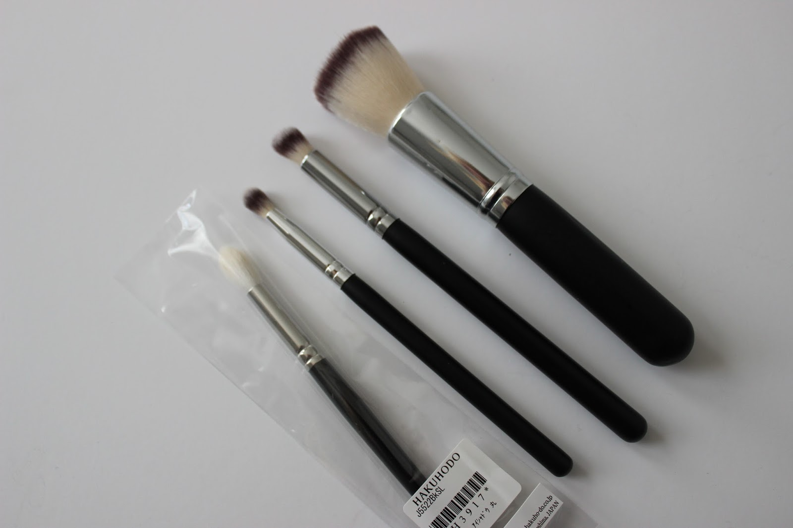 IMATS haul Crownbrushes and Hakuhodo eye brush