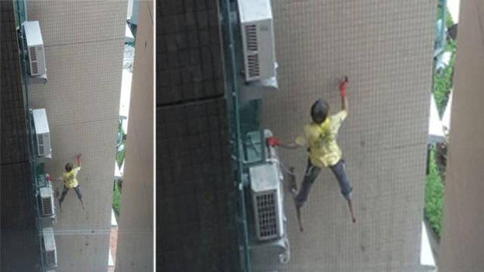 Безумные поступки людей (11 фото)