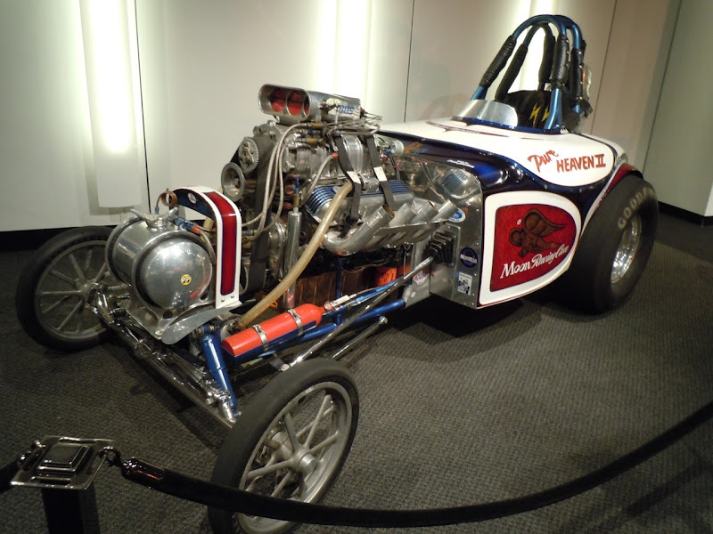 Pure Heaven II dragster Petersen Auto Museum