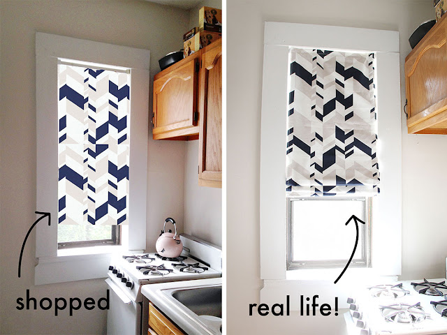 Use Photoshop to get a sense of how fabrics will look in your home before you purchase them.