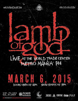 Lamb of God Live in Manila