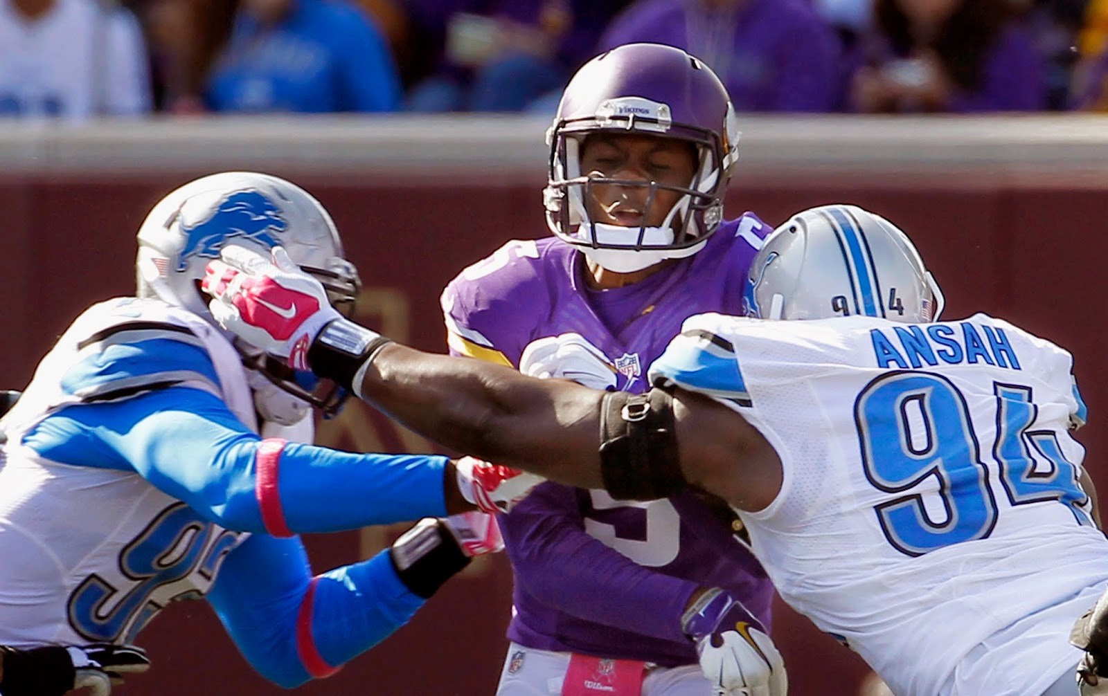 Detroit Lions — Five standouts from win over Vikings