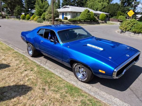 1972 Plymouth Road Runner 440 Auto Restorationice