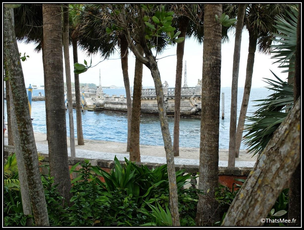 Musée et jardins Vizcaya Miami museum and gardens James deering art villa Floride FL USA