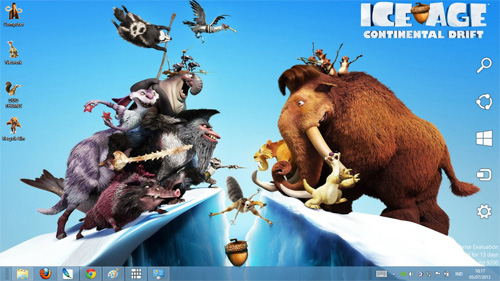 Ice Age Theme For Windows 7 And 8