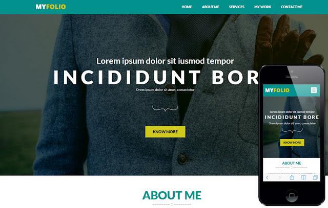 Portafolio personal HTML5