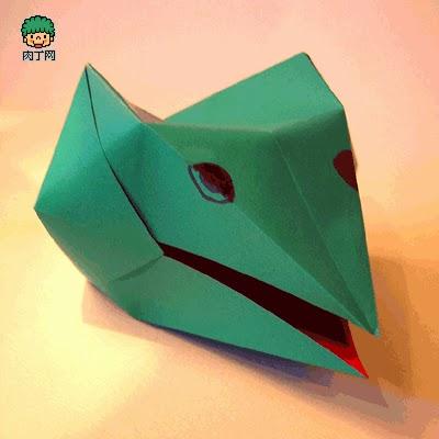 3 dimensional snake head