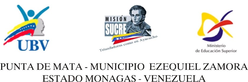UBV -MISION SUCRE