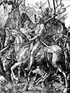 Albreht Direr - Vitez, Smrt i Đavo