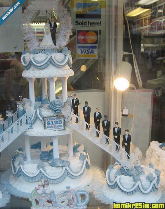 Ben düğünümde daha klasik bi pasta istiyorum bunlar benim için