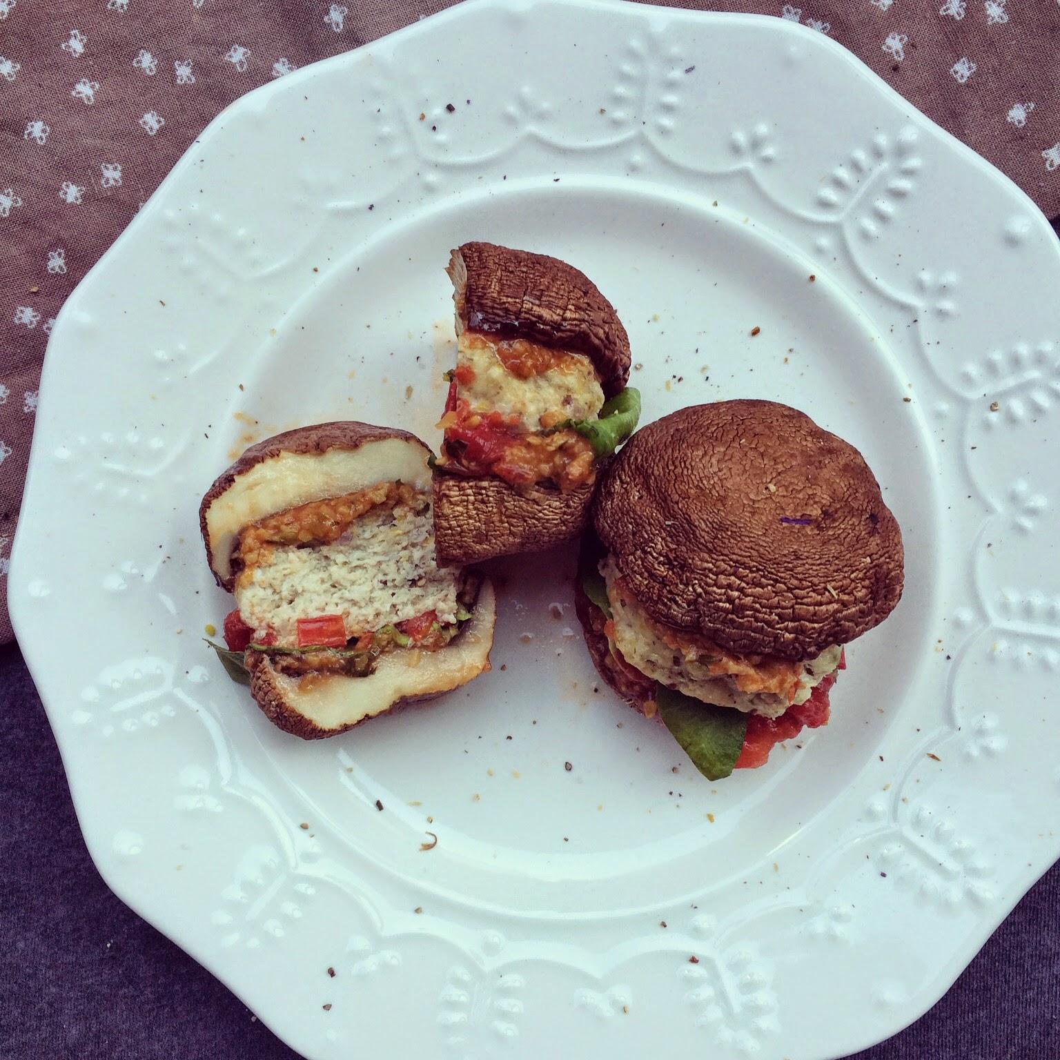 champi-burgers dinde feta