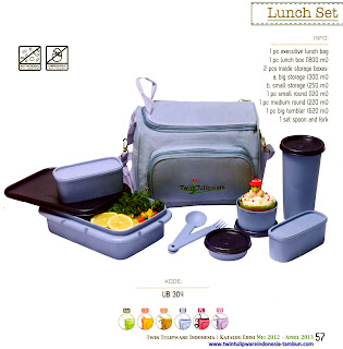 Info & Harga Twin Tulip Tulipware 2014 : Simple Lunch Set - Maestro