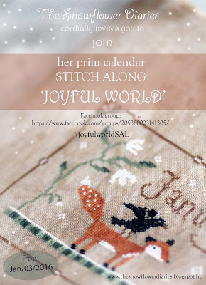 Snowflower Diaries - Joyful World SAL