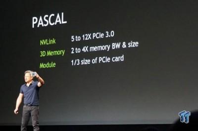 Nvidia Kenalkan Generasi Lanjut GPU Pascal