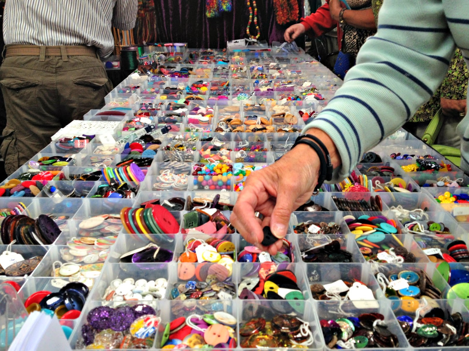 buttons at woolfest