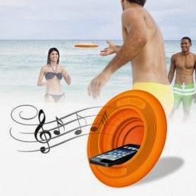 Frisbee Altavoz para la Playa