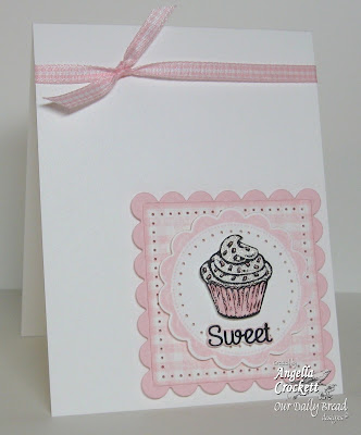 "ODBD ""Gingham Background"", ""Baking Tag Sentiments"", ""ODBD Recipe Card and Tags Die Set"", ""Baking Gift Tags"" Designer Angie Crockett"