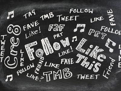 Un sinfín de redes sociales a las que sigo.