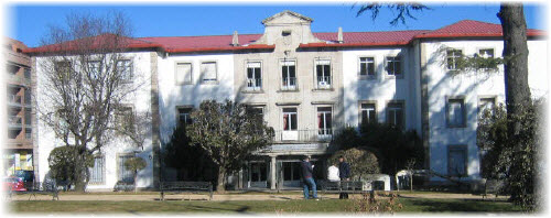 Fachada del centro integrado  de Formacion profesional de Béjar