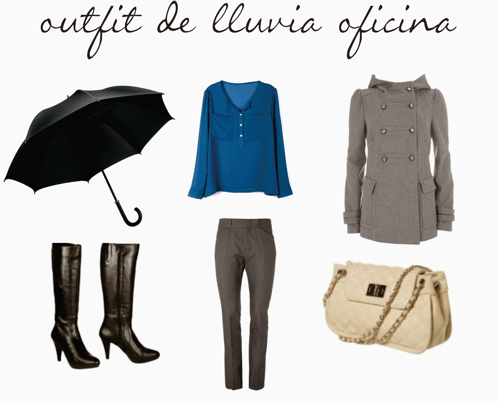 3 OUTFITS PARA LLUVIA | Looking your Style