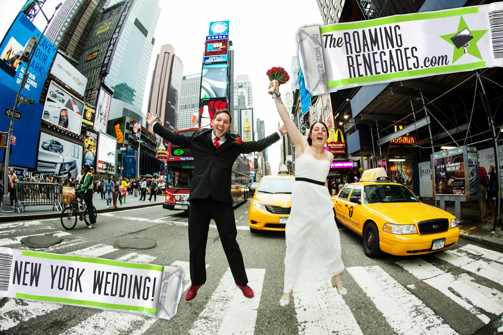 We got married in new york city the roaming renegades for Fun things for couples to do in nyc