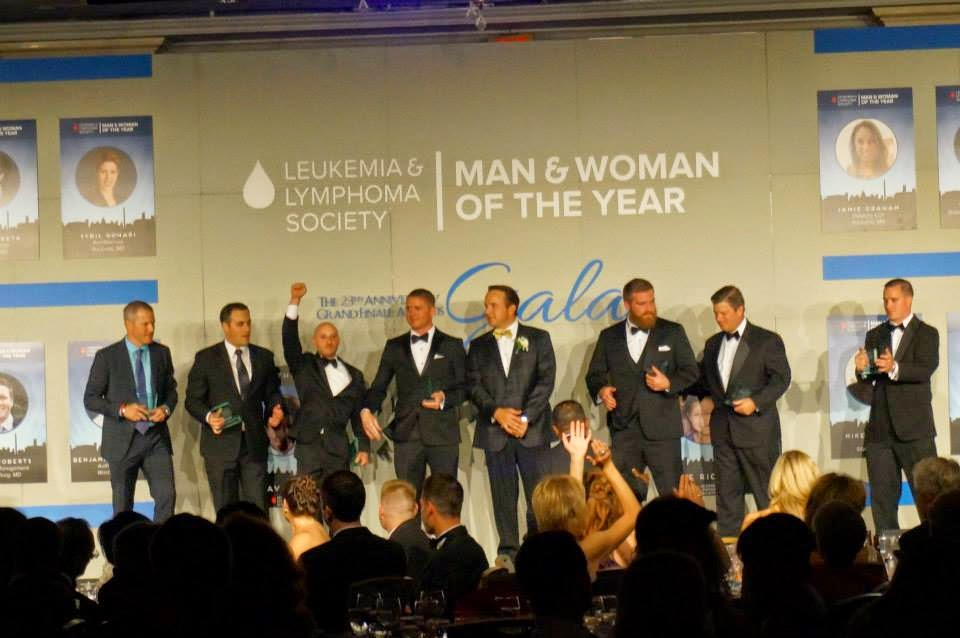 All 2014 Man of the Year candidates onstsage at Grand Finale Gala