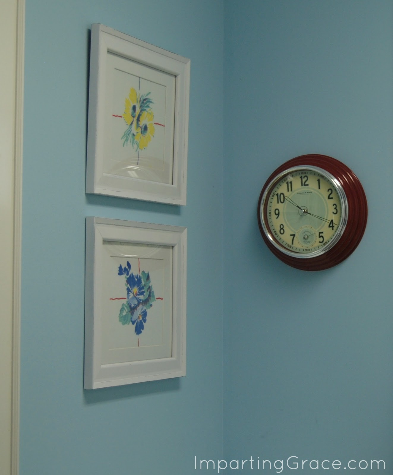 Imparting Grace: DIY Custom Wall Art