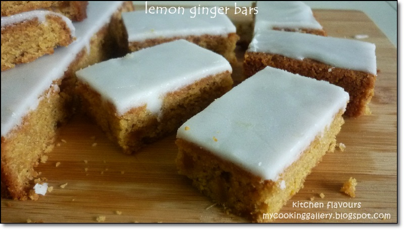 love using crystallized ginger in bakes and could not resist popping ...