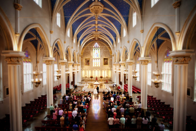 Wedding at the Cathedral of the Assumption