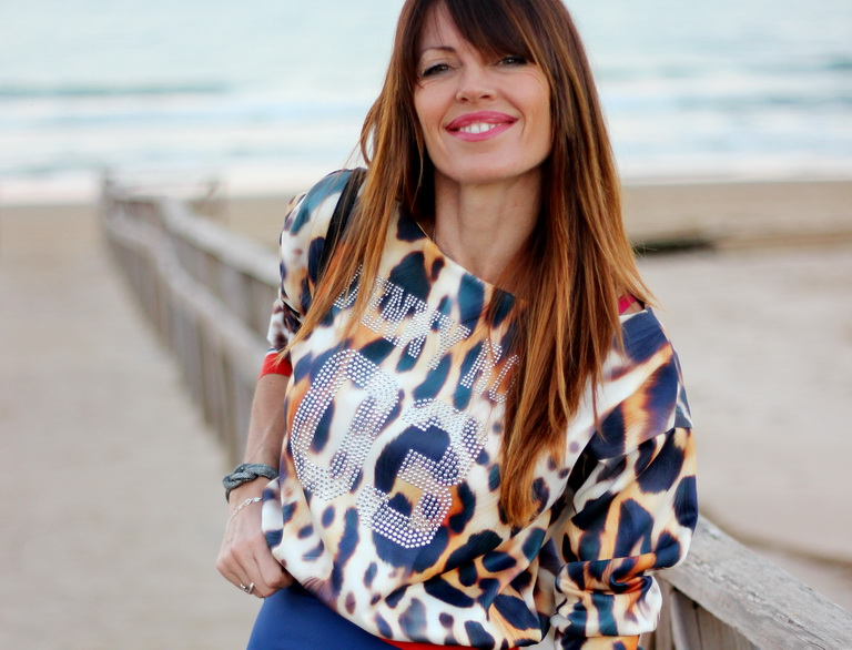 Smile, Denny Rose, Streetstyle , fashion blogger , Guardamar shopping, comprar en Guardamar, animal print