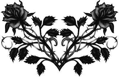 the-black-rose-gothic-crown-wallpaper