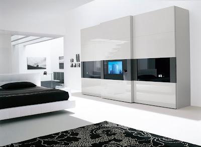 Ruang Tidur Warna Putih 10