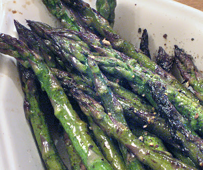 how to cook asparagus in the oven at 400