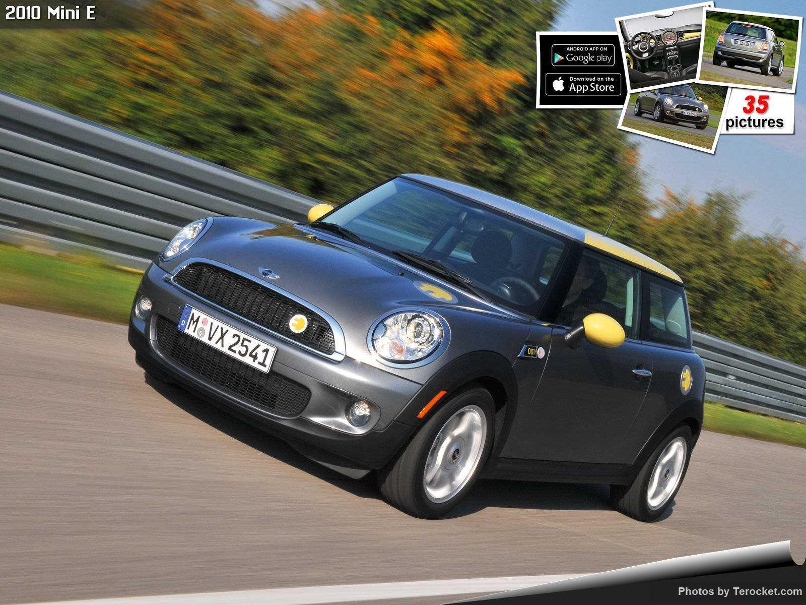 Hình ảnh xe ô tô Mini E 2010 & nội ngoại thất