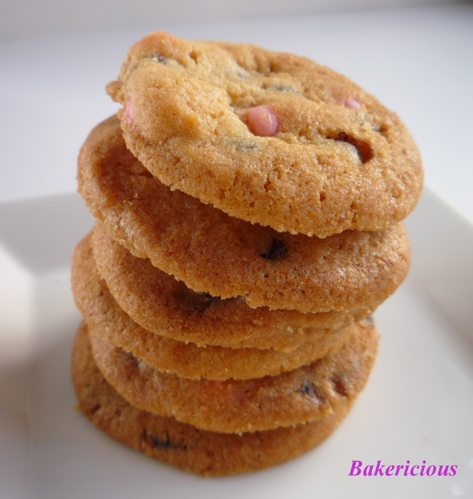 Bakericious: Crunchy Chocolate Chips Cookies