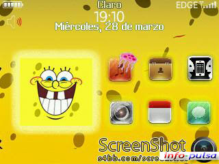 Sponge Bob - BlackBerry Theme
