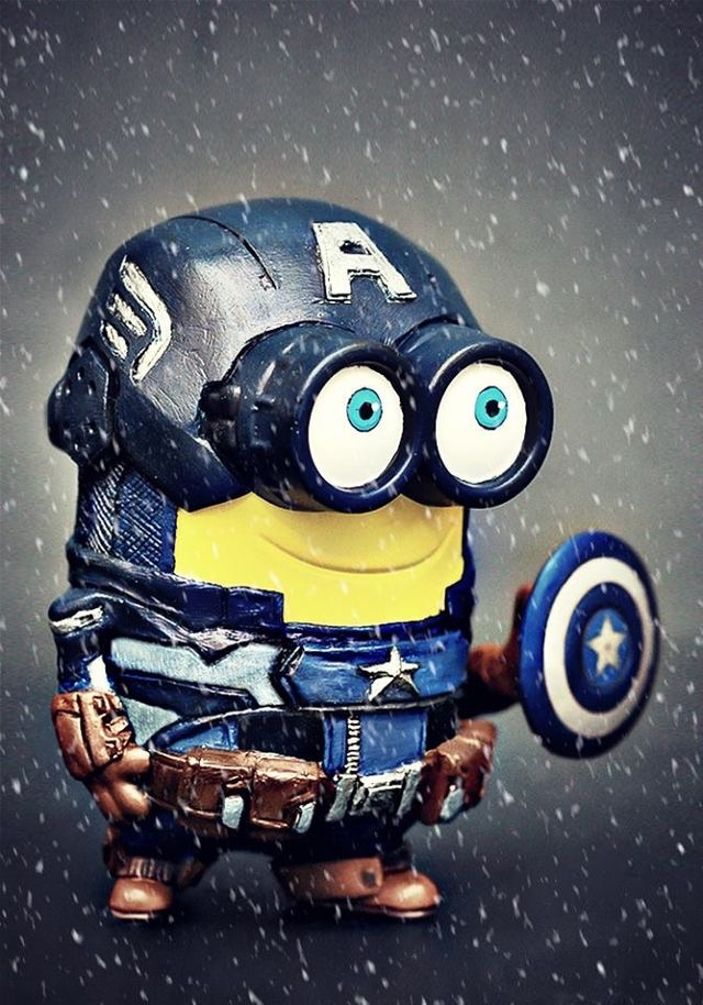 Gambar Superhero Minion Gadget Captain Animasi Super Hero Keren