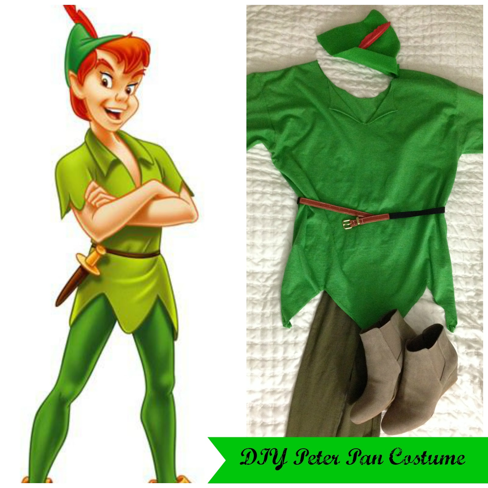 adventures in diy diy peter pan group costumes peter pan. Black Bedroom Furniture Sets. Home Design Ideas
