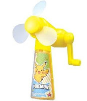Earth Friendly Fan Pokemon BW Tomy
