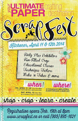 Teaching at Scrapfest Kitchener 2014