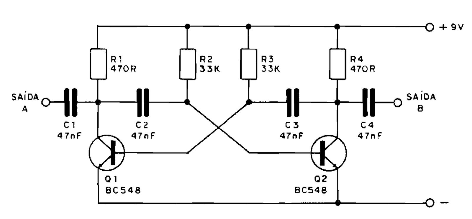 Circuito Oscilador : EletrÔnica geral oscilador de khz