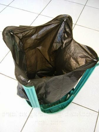You May Now Start Using The Garden And Yard Trash Bag Holder