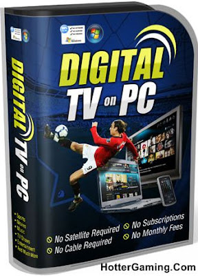 Free Download DIGITAL TV ON PC PRO 2013 Cover Photo