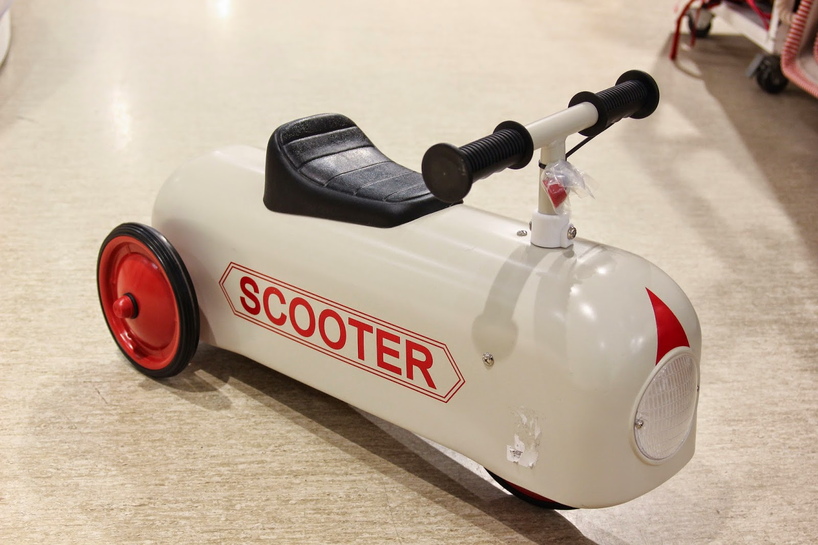 vintage ride-on scooter
