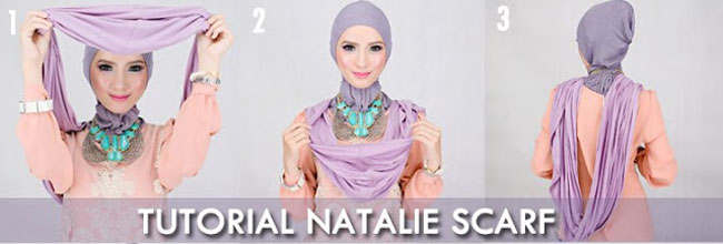 tutorial Cara Memakai Jilbab Instant