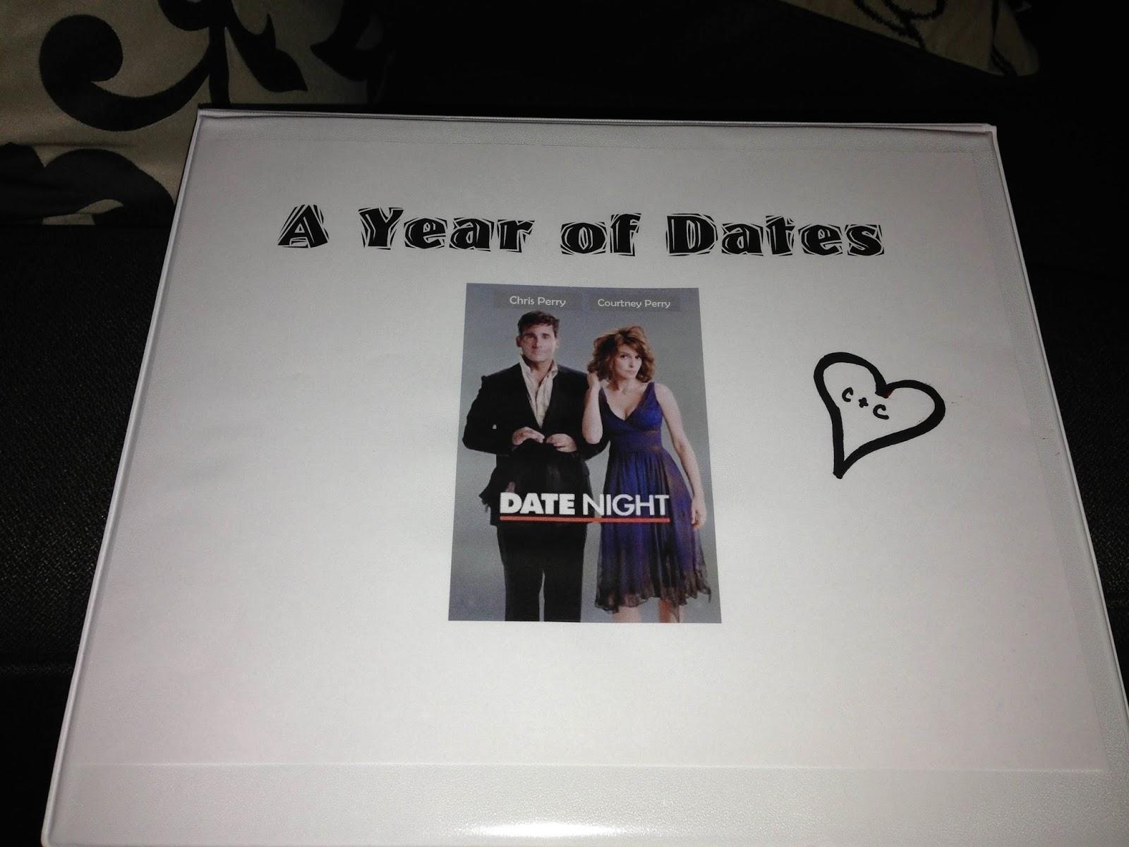 Unique Wedding Gift Idea The Date Night Binder
